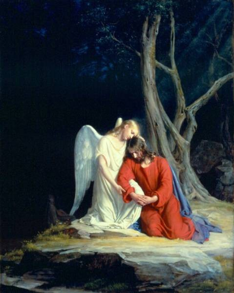 Carl Heinrich Bloch Christ in Gethsemane